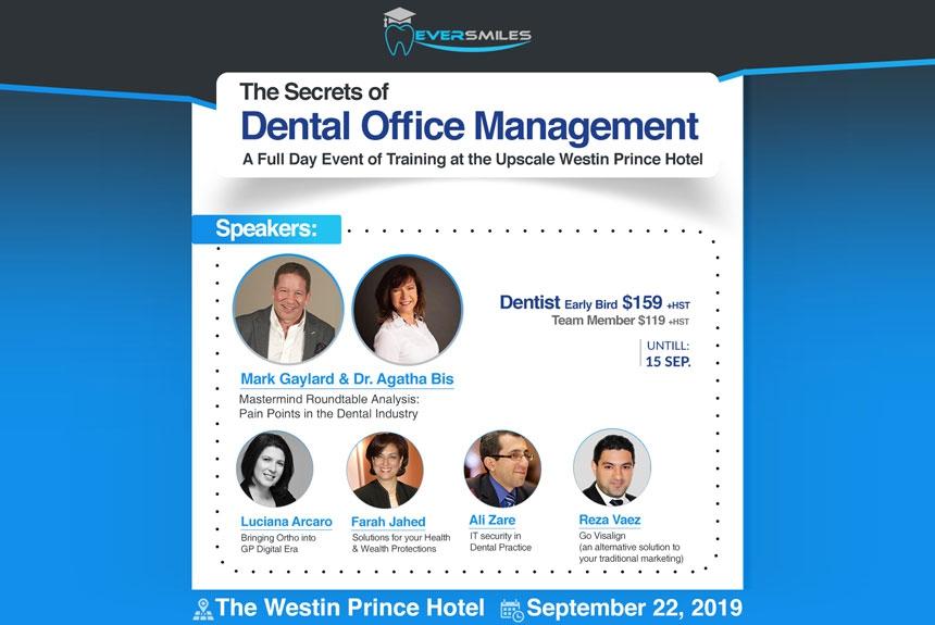 The Secrets of Dental Office Management